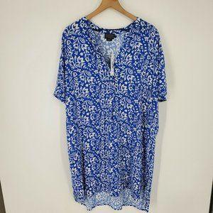 Pendleton Serephina Shirt Dress Tala Floral XL NWT